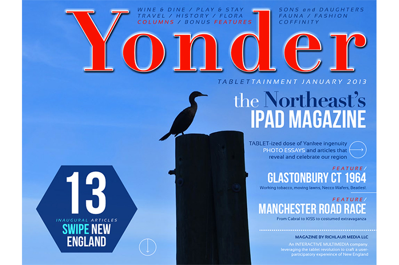 RichLaur Media demonstrates Yonder Magazine iPad app